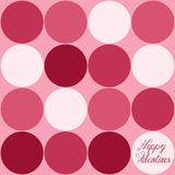 Large Pink Circles Stock Photography