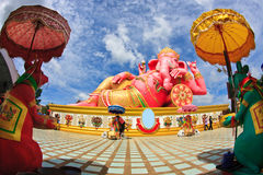 Large PInk Ganesh Royalty Free Stock Image
