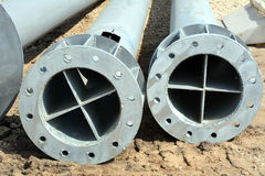 Large pipe Royalty Free Stock Images