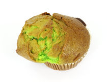 Large pistachio nut muffin Royalty Free Stock Photos