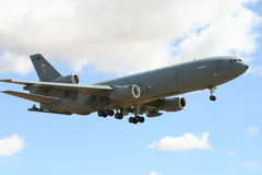 Large Plane. Large military plane used to transport things royalty free stock photo