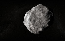 Large planetoid Royalty Free Stock Images