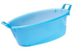 Large plastic bucket Stock Image