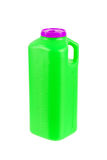 Large plastic container for urine samples Stock Photos
