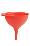 Large plastic funnel for water Royalty Free Stock Photo