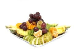 A large plate of fruit Royalty Free Stock Photo