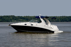 Large pleasure boat Stock Photos