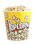 Large popcorn bucket Royalty Free Stock Images