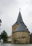 Large porte, Goslar, Allemagne Images libres de droits