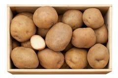 Large potatoes Royalty Free Stock Image