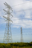 Large power line Stock Image