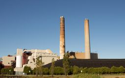Large power plant Stock Image