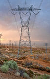 Large Power Transmission Tower Royalty Free Stock Photo