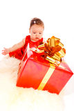 Large present Royalty Free Stock Images