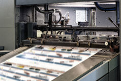 Large Printing Machines Inside the Office Stock Images