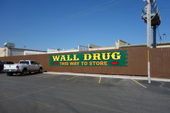 A large, prominent sign for a drug store Royalty Free Stock Photos