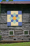 Large Quilt Square on Barn Royalty Free Stock Photo