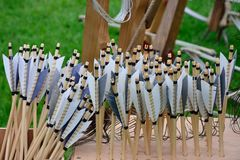 Large rack of arrows Royalty Free Stock Photo