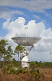 Large radar dish on grand bahama Stock Photo