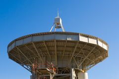 Large radio telescope antennae Royalty Free Stock Images