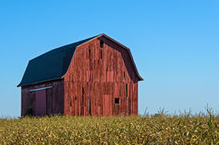Large Red Barn Stock Photo
