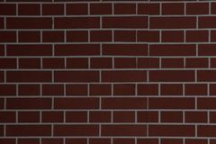 Large Red Brown Old Shabby Brick Wall Square Background Texture. Retro Urban Brickwall Frame Wallpaper. Grungy Textured Clay Brick Stock Photos