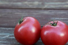 Large Red Ripe Tomatos Royalty Free Stock Photo