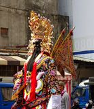 Large Religious Statue on Stilts Stock Image