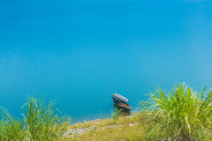 Large reservoir. Royalty Free Stock Images