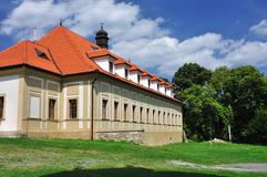 Large residental house. This is a residental house hidden in nature in Brdy forest in Czech republic Royalty Free Stock Image