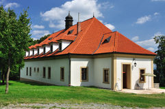 Large residental house. This is a residental house hidden in nature in Brdy forest in Czech republic Stock Photos
