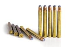 Large rifle bullets Stock Image