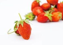 Large ripe strawberries Royalty Free Stock Image