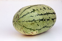 Large ripe water-melon. India Goa Royalty Free Stock Photos