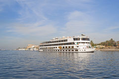 Large river boat on the Nile Stock Photography