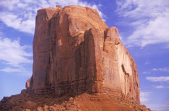 Large Rock Formation, Monument Valley, Utah Royalty Free Stock Photography