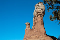 Large rock formations base Royalty Free Stock Photo