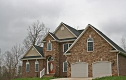 Free Large Rock Home With Details Stock Photo - 4836230