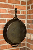 Large Rod Iron Pan Royalty Free Stock Image