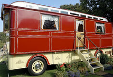 Large Romany Caravan Royalty Free Stock Photo