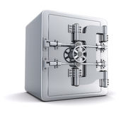 Large safe, closed Royalty Free Stock Photos