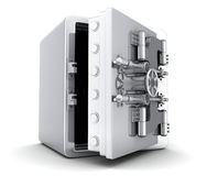 Large safe, open Royalty Free Stock Photo
