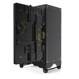 Large safe, open Royalty Free Stock Photography