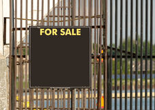 Large For Sale Sign Stock Photo