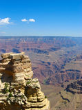 Large sand cliff at the Grand Canyon. stock photos