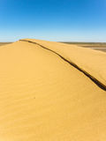Large sand dune Stock Images