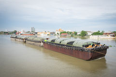Large sand tanker. Royalty Free Stock Photography