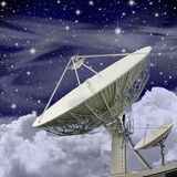 Large Satellite Dish Royalty Free Stock Photos
