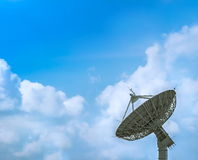 Large satellite dish Royalty Free Stock Images