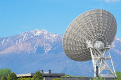 Large satellite dish Stock Photography